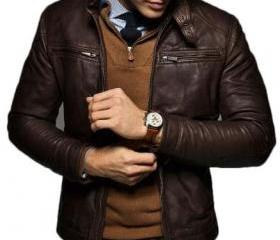 Men's Slim Fit Choco..