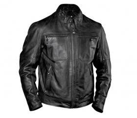 Mens Black Biker Arm..