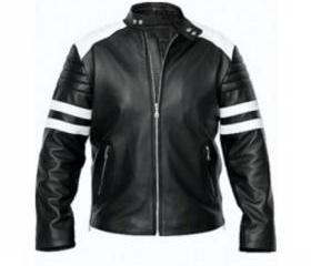 Black Leather Jacket..
