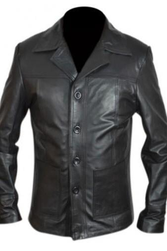 GENUINE LEATHER JACKET, CELEBRITY MEN LEATHER JACKET