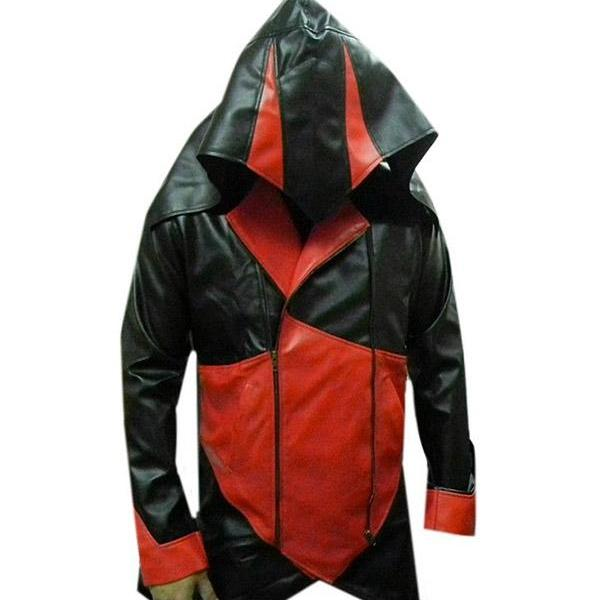 Assassins Creed 3 Leather Jacket, Mens Leather jacket